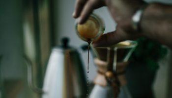 ICED COFFEE AND COLD COFFEE