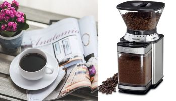 coffee maker with grinder and frother