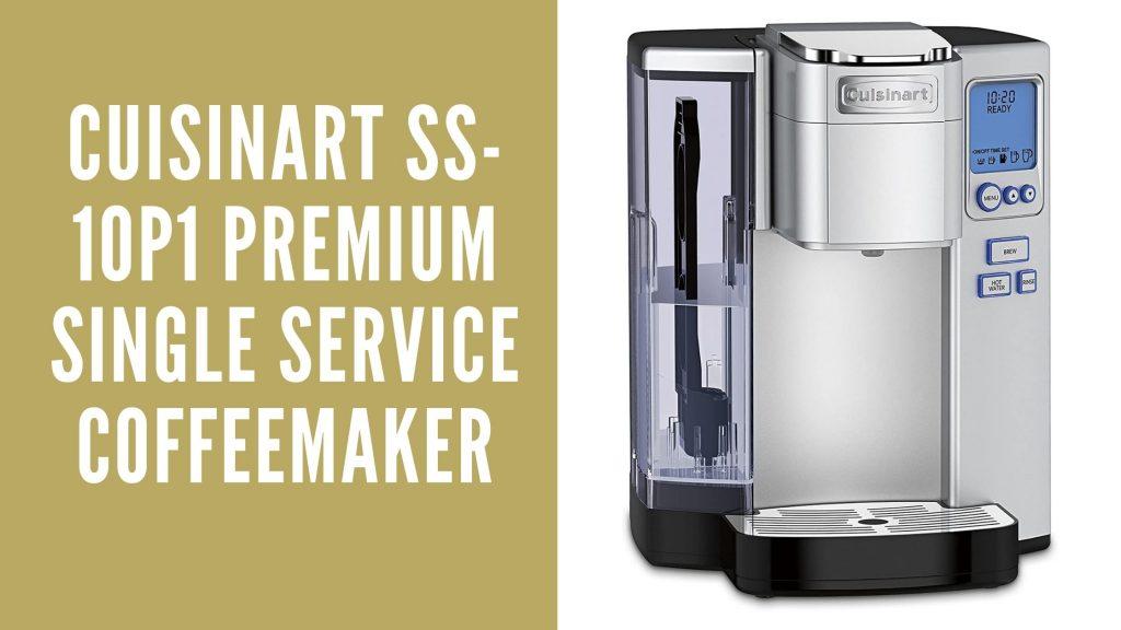 Cuisinart SS-10P1 Premium Single Service Coffeemaker-A premium single-serve coffee maker