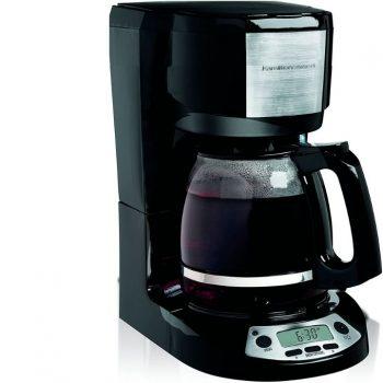 HOW TO PROGRAM HAMILTON BEACH COFFEE MAKER 49615