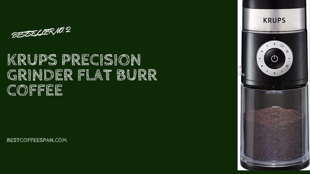 KRUPS Precision Grinder Flat Burr Coffee