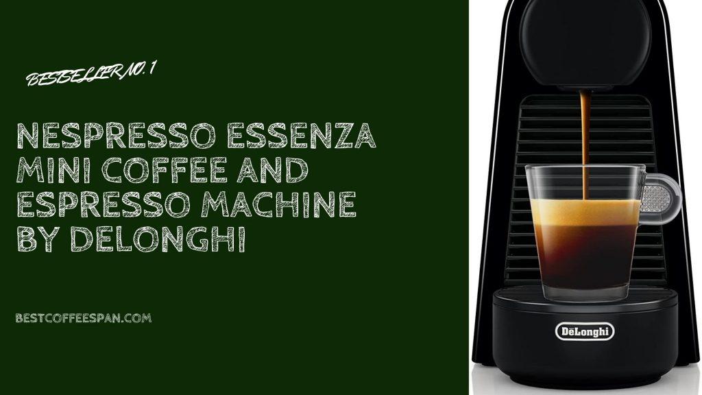 Nespresso Essenza Mini Coffee and Espresso Machine by DeLonghi
